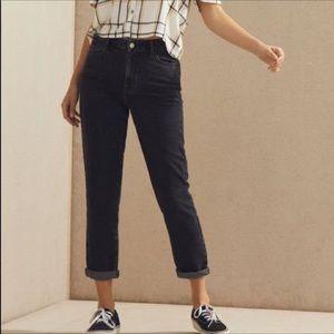 Pacsun Greyish Black Mom Jeans
